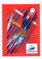 Lote F-Fr111, Francia, 1998, Entero Postal, Postal Stationany, World Cup Football, Soccer, Lyon - Enteros Postales