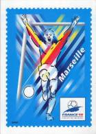 Lote F-Fr112, Francia, 1998, Entero Postal, Postal Stationany, World Cup Football, Soccer, Marsella - Enteros Postales