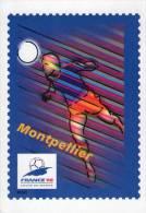 Lote F-Fr113, Francia, 1998, Entero Postal, Postal Stationany, World Cup Football, Soccer, Montpellier - Enteros Postales