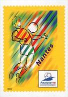 Lote F-Fr114, Francia, 1998, Entero Postal, Postal Stationany, World Cup Football, Soccer, Nantes - Enteros Postales