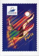 Lote F-Fr115, Francia, 1998, Entero Postal, Postal Stationany, World Cup Football, Soccer, Paris - Enteros Postales