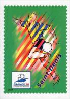 Lote F-Fr116, Francia, 1998, Entero Postal, Postal Stationany, World Cup Football, Soccer, Saint Denis - Enteros Postales