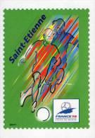 Lote F-Fr117, Francia, 1998, Entero Postal, Postal Stationany, World Cup Football, Soccer, Saint Etienne - Enteros Postales