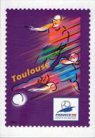 Lote F-Fr118, Francia, 1998, Entero Postal, Postal Stationany, World Cup Football, Soccer, Toulouse - Enteros Postales
