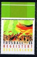 Bund 2012, Michel # 2930 ** Fussball Begeistert - BRD