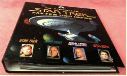 13 Zeitschriften Im Ordner  -  Die Offiziellen STAR TREK Fakten Und Infos -  Heft 1 Bis 13 / 1998 - Film & TV