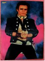 Kleines Musik Poster  -  Adam Ant  -  Rückseite : Boy George -  Von Bravo Ca. 1982 - Plakate & Poster
