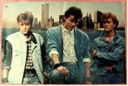 Kleines Musik Poster  -  Gruppe A-HA  -  Von Bravo Ca. 1982 - Plakate & Poster