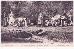 4- OUILLY-LE-TESSON - Les Rotours- Le Lavoir  - Ed. Lefèvre - Francia