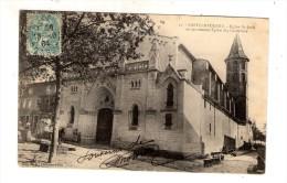 Cp ,11 , CASTELNAUDARY , église SAINT JEAN Anciennement Des CORDELIERS , Dos Simple , Voyagée 1904 - Castelnaudary