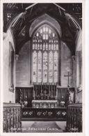 SWINESHEAD CHURCH INTERIOR. HIGH ALTAR - England