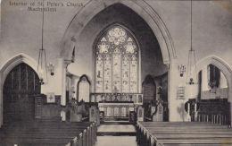 MACHYNLLETH -ST PETERS CHURCH INTERIOR - Montgomeryshire