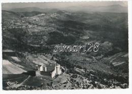 AUJAC - N° 22928 - LE CHATEAU DE CHEYLARD - LA CHAINE DES CEVENNES (CPSM) - Sonstige Gemeinden