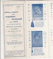 B1203 - CATALOGO ILLUSTRATO CALENDARIETTI PROFUMATI DA BARBIERI 1931 Officina Grafica Nuova Sicilia - Palermo - Calendari
