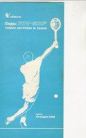 B1211 - Brochure TORNEO NOTTURNO DI TENNIS COPPA RIV-SKF - TORINO 1969 - Tennis