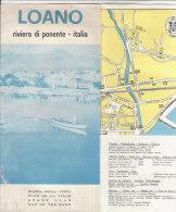 B1266 - PIANTA DELLA CITTA' -  SAVONA - LOANO /ALBERGHI/LOCANDE/CAMPING - Europa