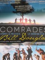 Dépliant/Affiche (22x15 Puis 44x30 Cm) : Comrades, Bill Douglas, 2014 - Cinemania