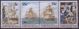 NORFOLK ISLAND  1987 Set Of For Including Pair MNH - Norfolk Island