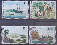 NORFOLK ISLAND  1989 Bounty Set Of 4 MNH - Norfolk Island