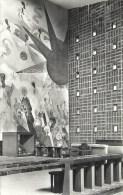 62 - PAS DE CALAIS - AUDINGHEN - Eglise St PIERRE - Architecte Colladant - CPSM PF NB 1960  Détail De La Fresque - France