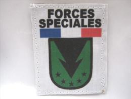 (PRIX SPECIAL) INSIGNE TISSUS PATCH DES FORCES SPECIALES SAS / COS PARACHUTISTES ETAT EXCELLENT SUR VELCRO