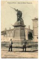 55   FRESNES  En WOEVRE            Statue Du Général Margueritte - France