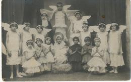 Real Photo Danseuses Angelots Petites Filles 1932 - Roumanie