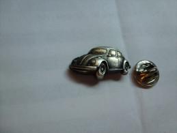 Beau Pin´s En Relief , Auto VW Volkswagen Coccinelle - Volkswagen