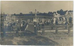 Carte Photo Tombes Belges A Rabosée Wandre Guerre 1914 WWI - Non Classés