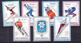 PGL P0415 - ROUMANIE ROMANIA Yv N°2329/35 ** JEUX OLYMPIQUES - 1948-.... Republics