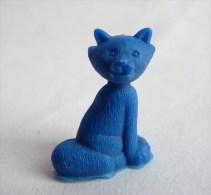 RARE FIGURINE PUBLICITAIRE  Monochrome Bleue - ARISTOCHATS  02 - ARISTOCATS DISNEY Dunkin - Disney