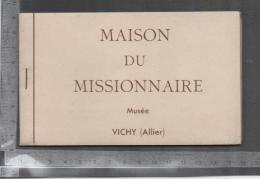 CARNET  DE LA MAISON DU MISSIONNAIRE MUSEE VICHY ALLIER - France