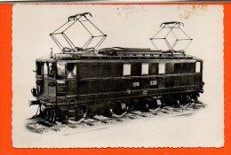 Chemin De Fer - Train  - Locomotives électrique à Récupération Des Chemins De Fer Du Maroc (1930) (non écrite) - Trains
