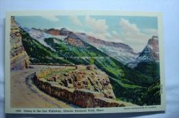 Going To The Sun Highway, Glacier National Park , Mont - Etats-Unis