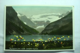 The Poppies , Lake Louise, Canadian Rockies - Lac Louise