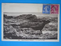56 : SAINT-GILDAS De RHUYS : Le ROCHER De L'AIGLE  : C.P.A. En Trés Bon état , - Francia