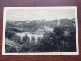 Genval-les-Eaux - Panorama Général Du Parc Et Du Lac / Anno 1932 ( Zie Foto Voor Details ) !! - Rixensart