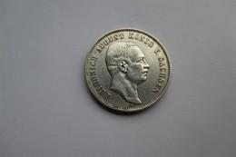 Duitsland Saxony 3 Mark, 1909  Friedrich August III - 2, 3 & 5 Mark Zilver