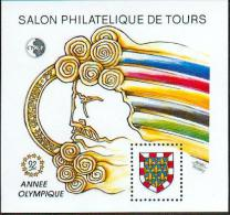 N° 15       Salon Philatélique De Tours - Année Olympique 1992 -  Neuf - CNEP