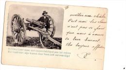 Militaria : L'artilleur Boer Avec Son Canon Fabriqué Par Lui-même (écrite) - Ausrüstung