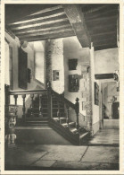 CHATEAU D´ECAUSSINNES-LALAING.  Escalier........(voir Scan Verso) - Ecaussinnes