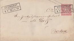 NDP GS-Umschlag 1 Gr. Neumarkt Reg. Bez. Breslau 4.7.70 - Norddeutscher Postbezirk
