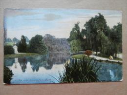 35820 PC: SOMERSET: The Lake, Victoria Park, BATH. - Bath