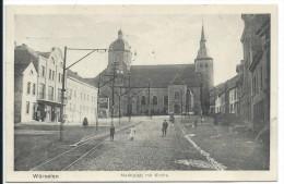 Würselen Wuerselen Marktplatz Mit Kirche - Würselen
