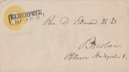 Preussen GS-Umschlag 3 Silb.Gr. Elberfeld 10.5. Gel. Nach Breslau - Preussen