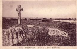 Brignogan-croix De La Greve De Lividic - Brignogan-Plage