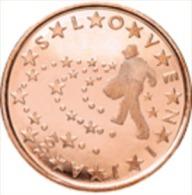 Slovenie 2009   5 Cent    UNC Uit De Rol  UNC Du Rouleaux  !! - Slovénie