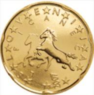 Slovenie 2009   20 Cent    UNC Uit De Rol  UNC Du Rouleaux  !! - Slovénie