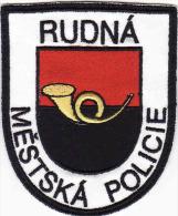 Écusson Tissu-Patch, City Police De Rudná -Czech Rep. - Police