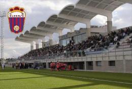 Stadium Pepico Amat (C.D.Eldense,Spain) Postcard - Size: 15x10 Cm. Aprox - Soccer
